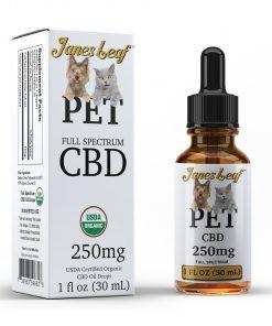 Janes Leaf CBD 250mg pet